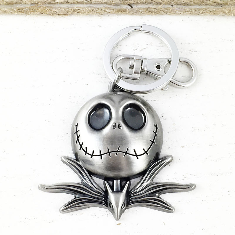 Jack Skellington Pewter Keychain - product images  of