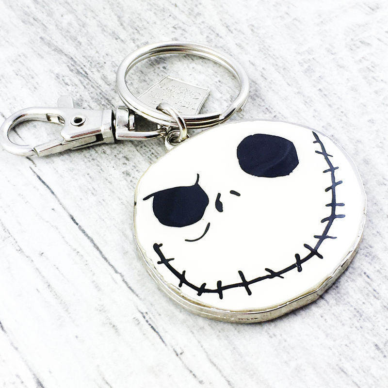 Jack Skellington Enamel Keychain - product images  of