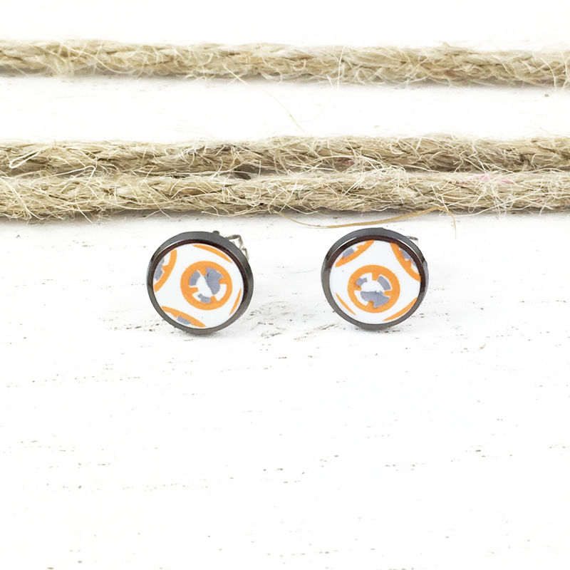 Star Wars BB8 Stud Earrings - product images  of