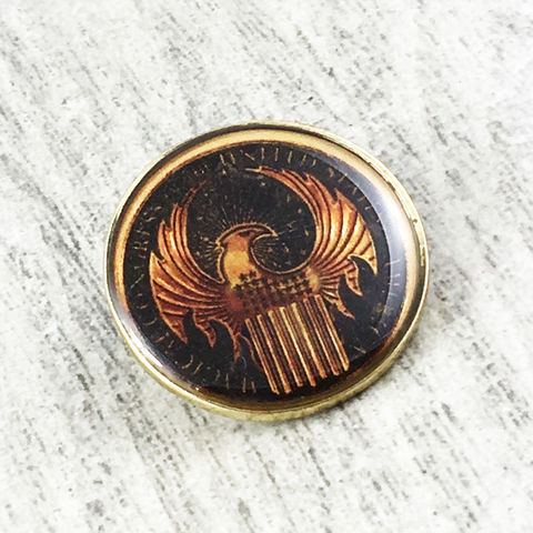 Fantastic,Beasts,MACUSA,Eagle,Pin,macusa, eye, magical congress, lapel pin, enamel, eagle, logo, fantastic beasts and where to find them, hat pin, pewter, pendant, black