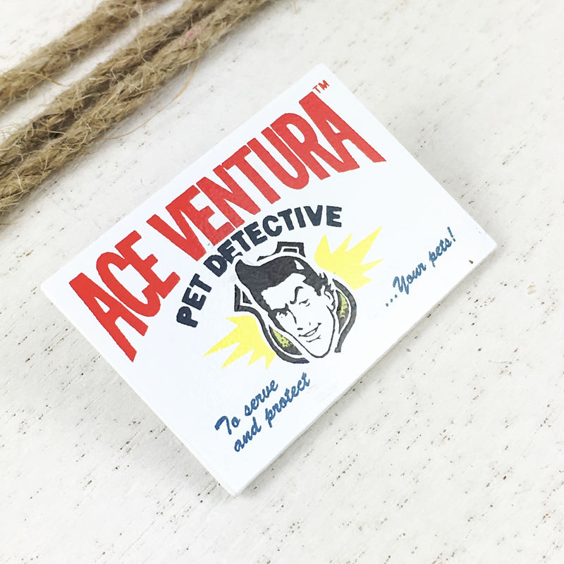 Ace Ventura: Pet Detective Card Enamel Pin - product images  of