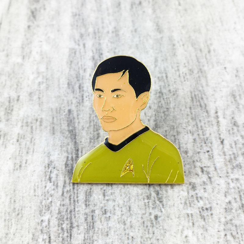 Star Trek Sulu Enamel Pin - product images  of