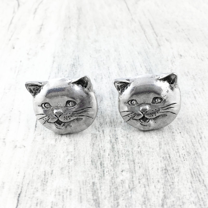 Happy Cat Cufflinks - product images  of