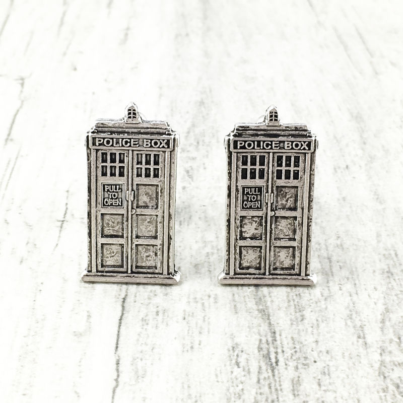 Police Box Cuff Links - product images  of