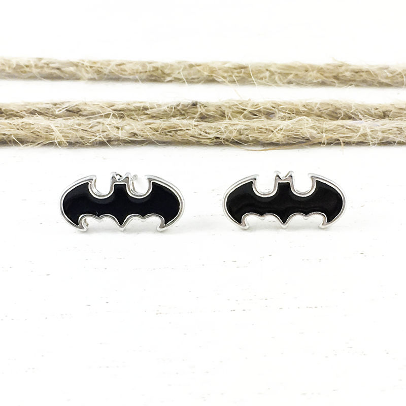 Batman Stud Earrings, black - product images  of