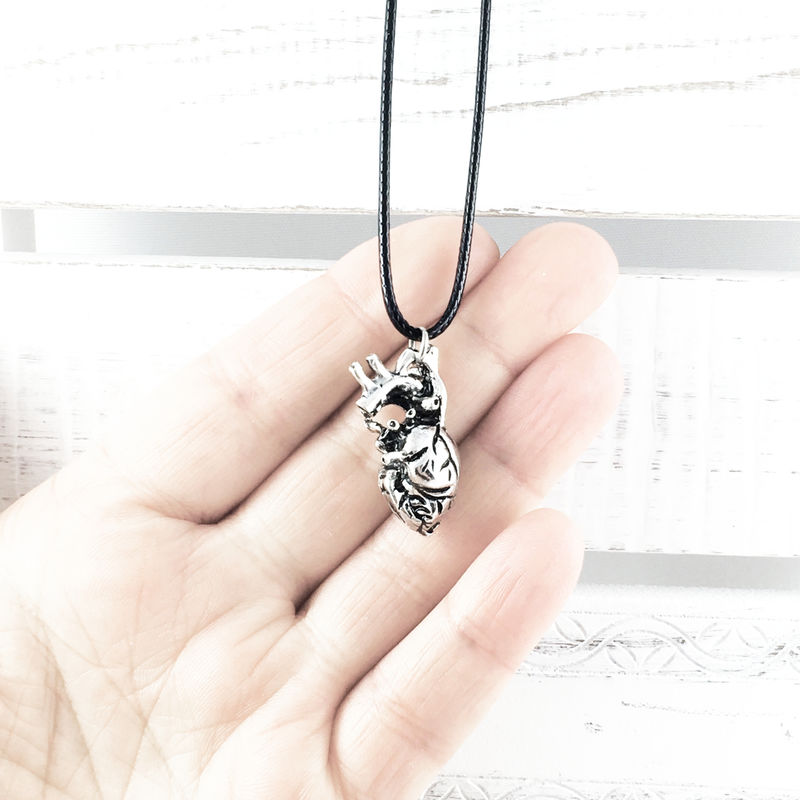 Anatomical Heart Necklace - product images  of
