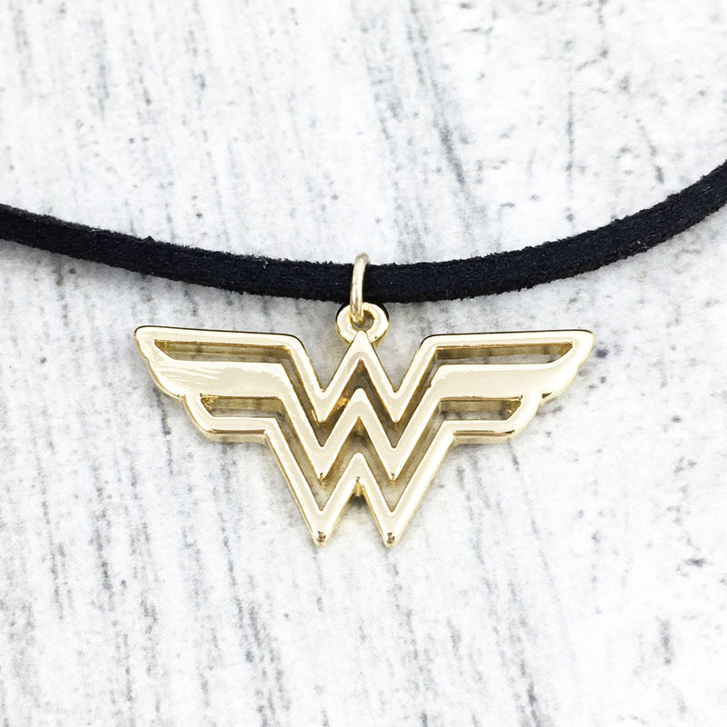 Wonder Woman Choker Necklace - product images  of