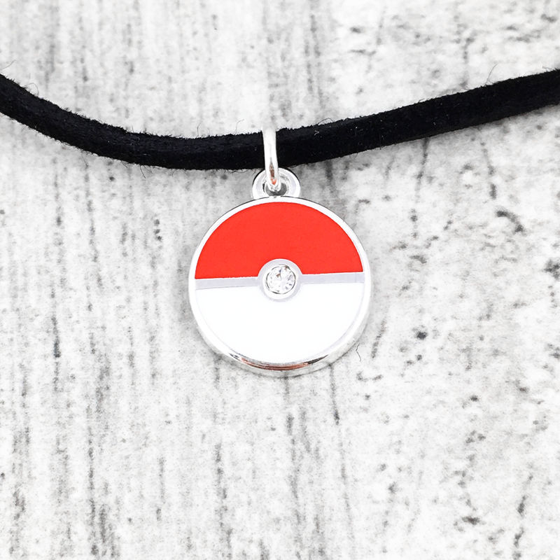 Pokéball Mini Choker Necklace - product images  of