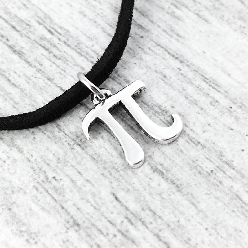 Pi Symbol Choker Necklace - product images  of