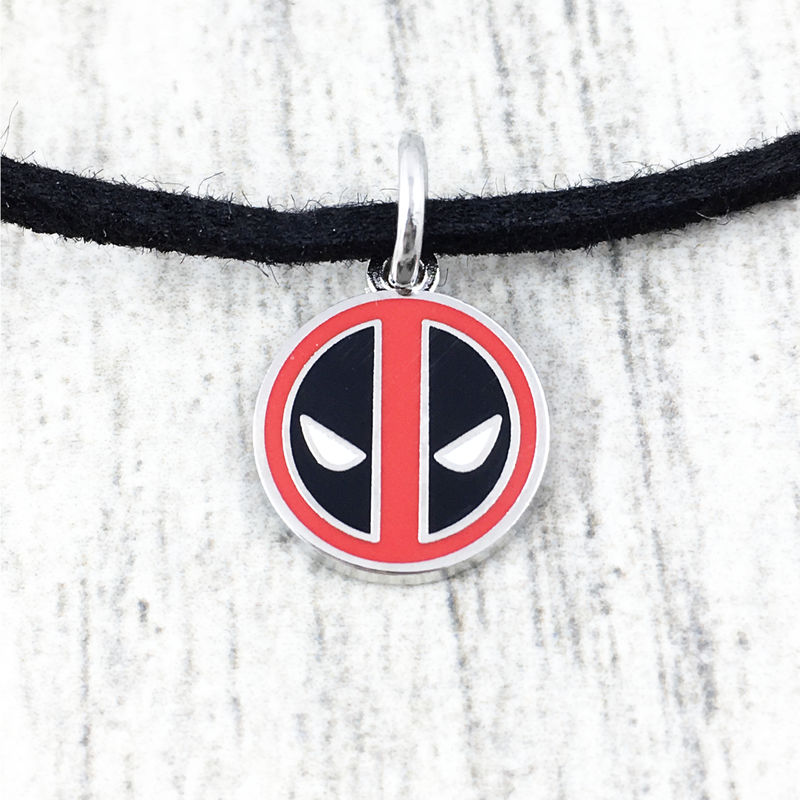 Deadpool Small Pendant Choker Necklace - product images  of
