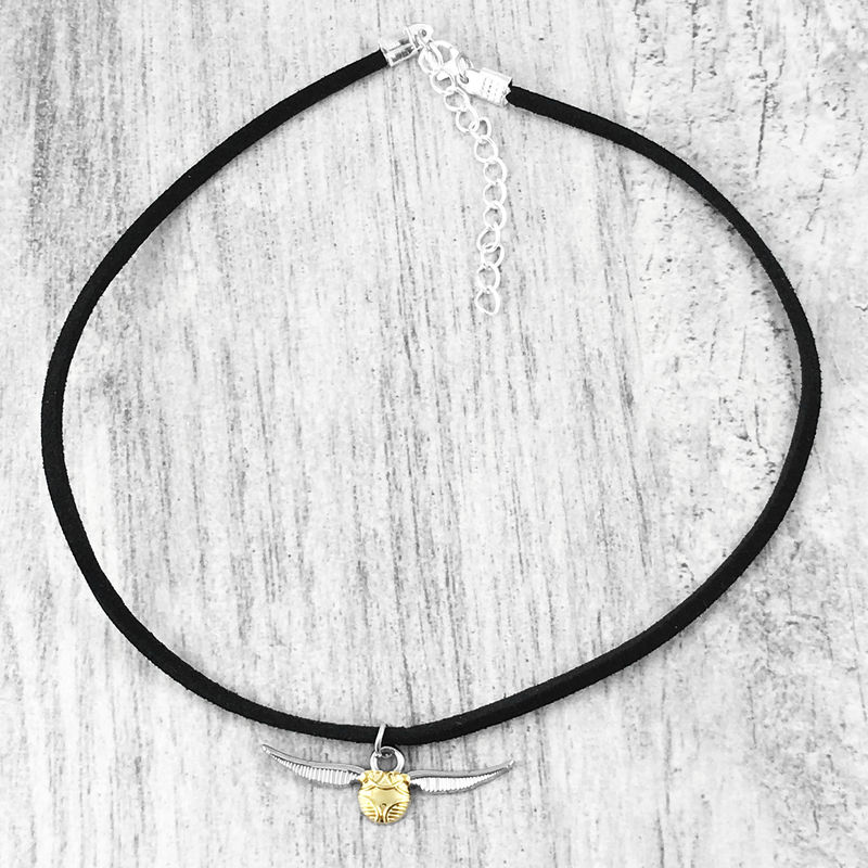 Harry Potter Golden Snitch Choker Necklace - product images  of