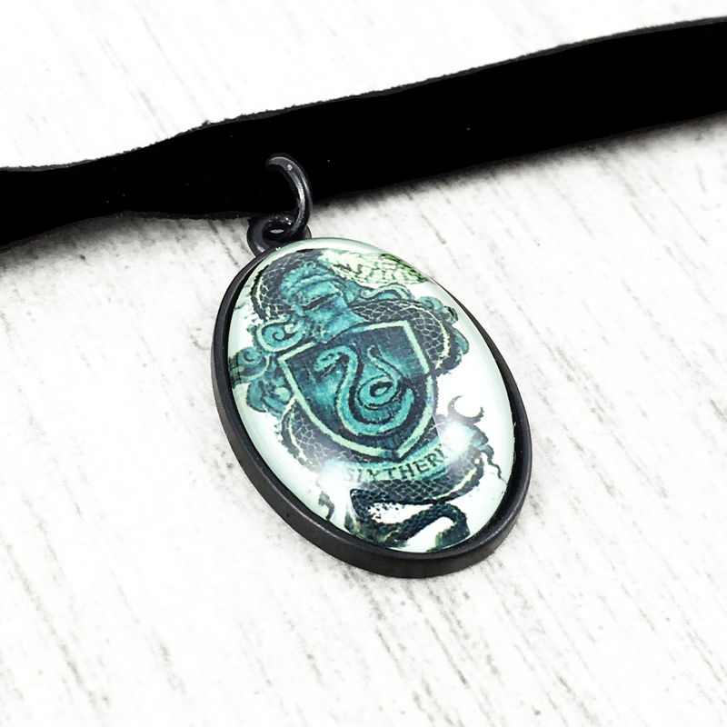 Harry Potter Slytherin Choker Necklace - product images  of