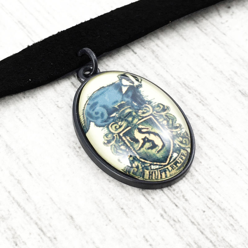 Harry Potter Hufflepuff Choker Necklace - product images  of