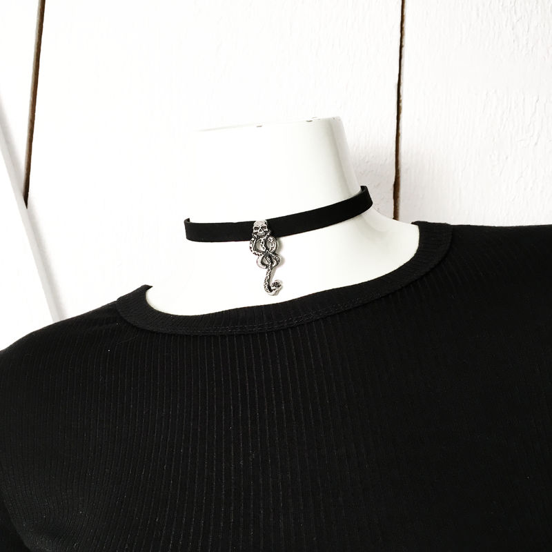 Harry Potter Dark Mark Choker Necklace - product images  of