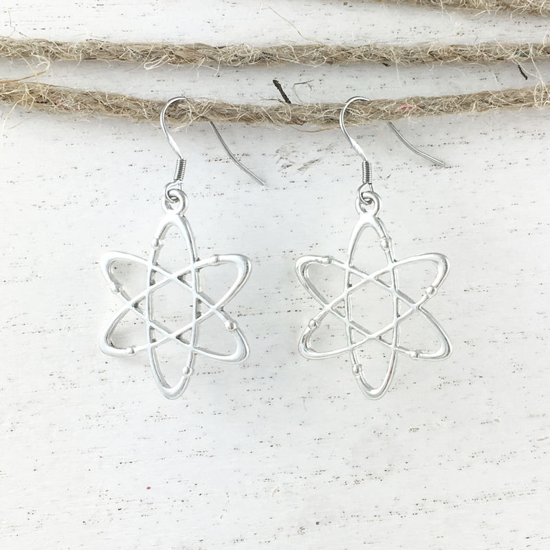 Atomic Symbol Earrings - product images  of