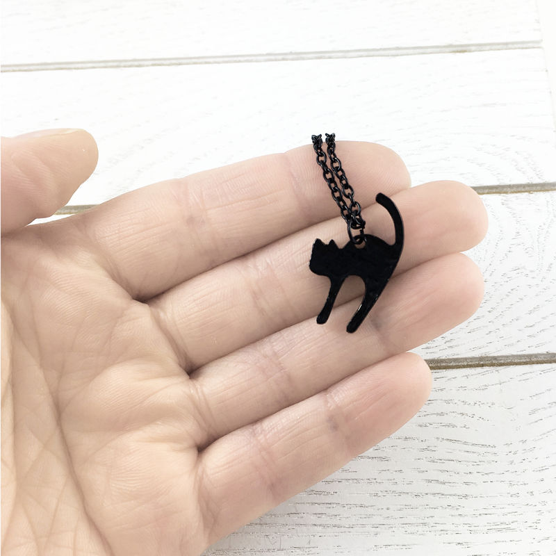 Black Cat Necklace - product images  of