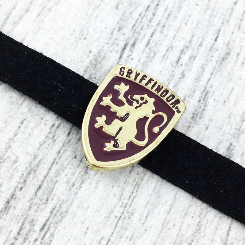 Hogwarts House Crest Slider Choker Necklace - product images  of