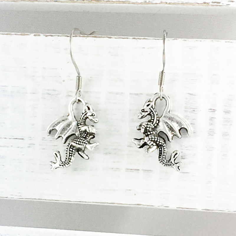 Dragon Earrings - product images  of