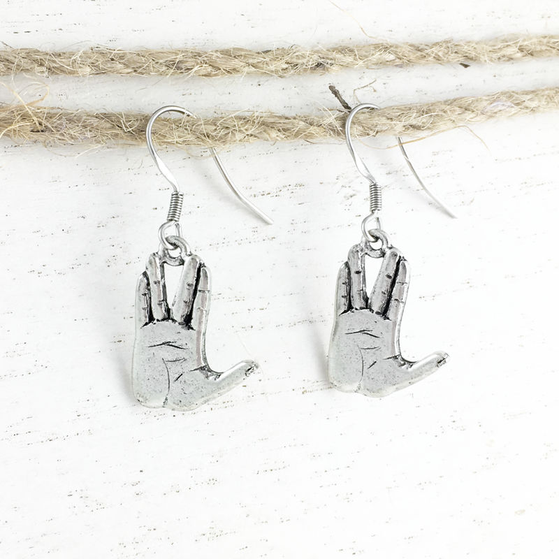 Live Long and Prosper Earrings - product images  of
