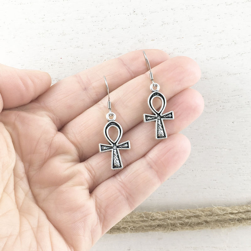 Ankh Earrings - product images  of