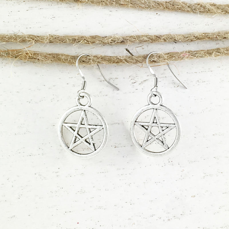 Pentacle Earrings - product images  of
