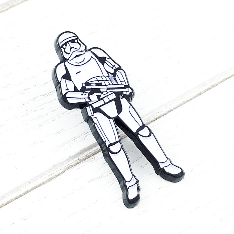 Star Wars Ep. VIII Stormtrooper Enamel Pin - product images  of