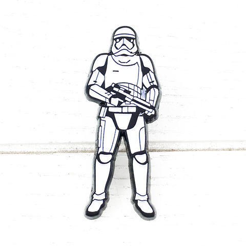 Star,Wars,Ep.,VIII,Stormtrooper,Enamel,Pin,star wars, stormtrooper, storm trooper, first order, enamel pin, episode 8, viii