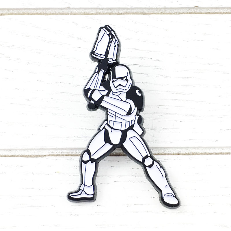 Star Wars Riot Control Stormtrooper Enamel Pin - product images  of