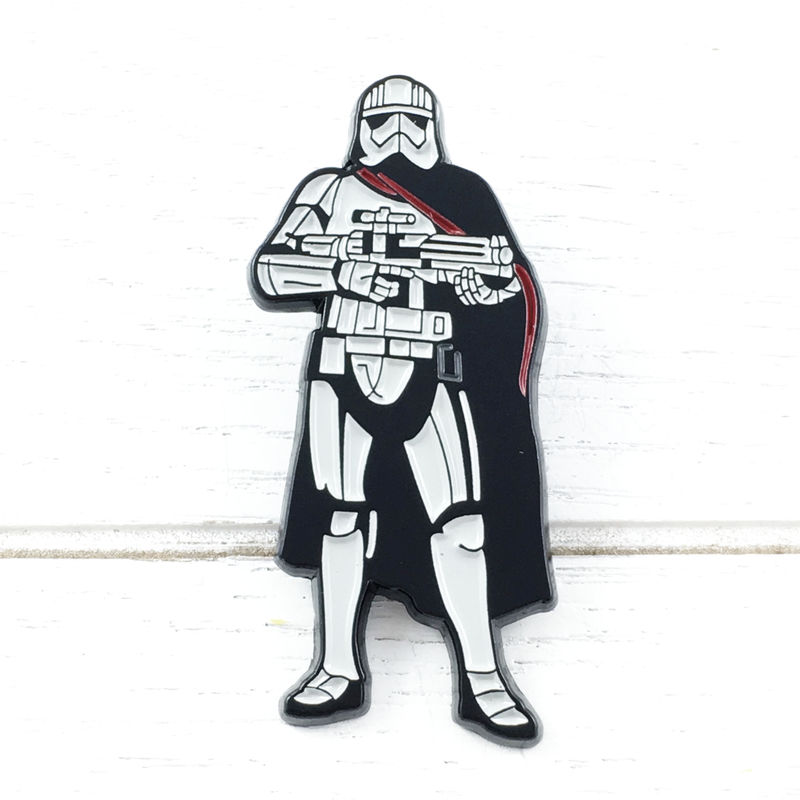 Star Wars Captain Phasma Enamel Pin - product images  of