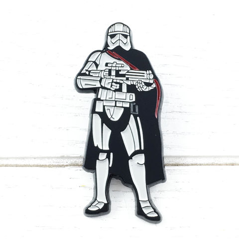 Star,Wars,Captain,Phasma,Enamel,Pin,star wars, stormtrooper, storm trooper, first order, captain phasma, enamel pin, episode 8, viii