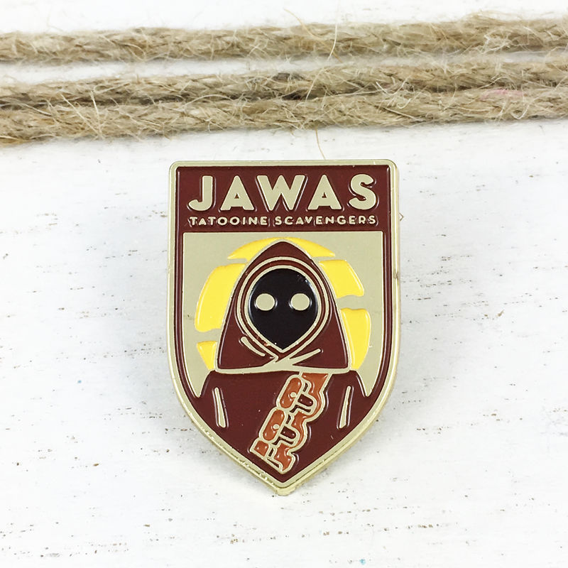 Star Wars | Jawas Flag Enamel Pin - product images  of