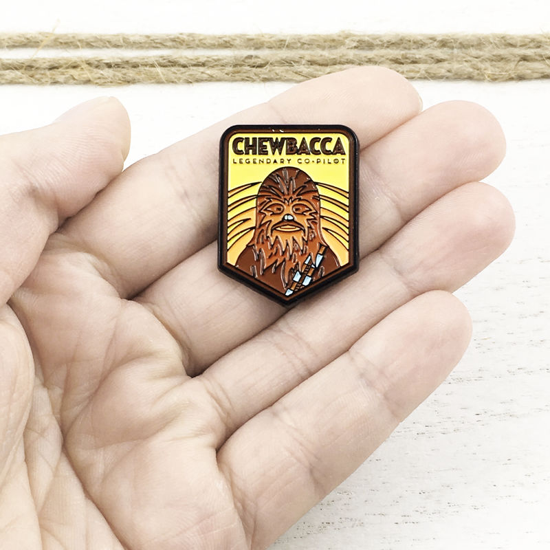 Star Wars | Chewbacca Badge Enamel Pin - product images  of