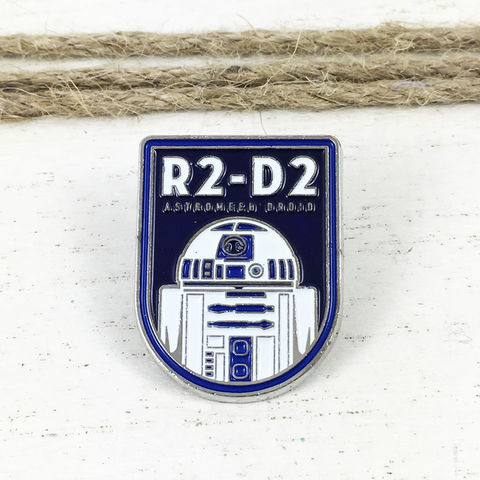 Star,Wars,|,R2D2,Badge,Enamel,Pin,star wars, enamel pin, R2D2, astromech droid, classic, lapel pin, sci fi, geek, colour, metal, collection