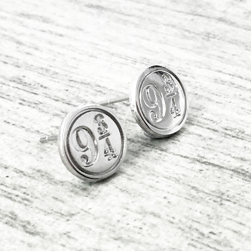 Harry Potter Platform 9-3/4 Stud Earrings - product images  of