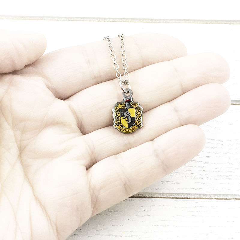 Harry Potter Hufflepuff Crest Necklace - product images  of