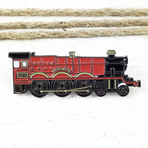 Harry,Potter,Hogwarts,Express,Enamel,Pin,harry potter, hogwarts express, enamel pin, train, fansets, colour, metal, geeky, bookish, locomotive