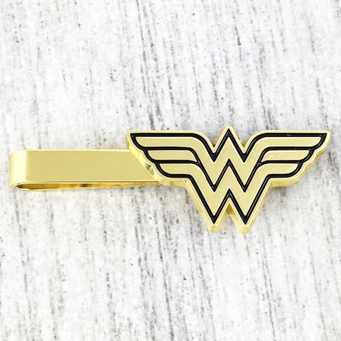 Wonder,Woman,Tie,Clip,wonder woman, tie clip, pewter, golden, fancy, tie bar, tie pin, wedding, geeky, comic books