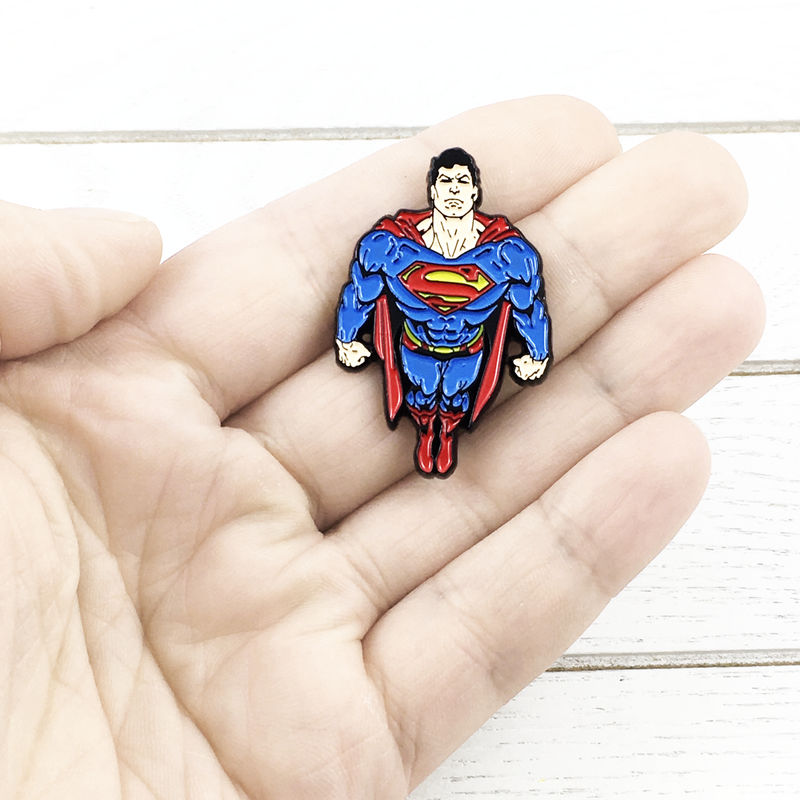 Superman Flying Enamel Pin - product images  of