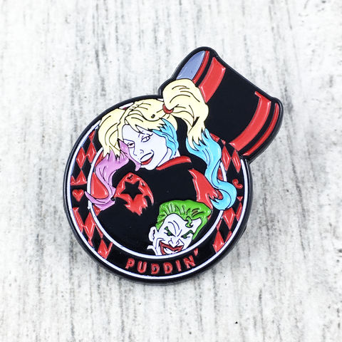 Harley,Quinn,Enamel,Pin,harley quinn, enamel pin, suicide squad, character, hammer, lapel pin, tie pin, tie tack, pendant, pewter, comics, nerd, geeky, silver