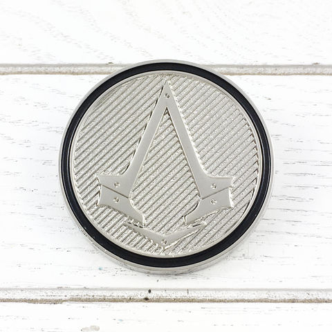 Assassin's,Creed,British,Insignia,Lapel,Pin,assassin's creed, british, lapel pin, round, pin, badge, coin, power-a, gamer, geek, collectors, series 1, blind box