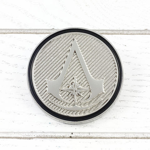 Assassin's,Creed,Chronicles,Insignia,Lapel,Pin,assassin's creed, chronicles, insignia, lapel pin, round, pin, badge, coin, power-a, gamer, geek, collectors, series 1, blind box