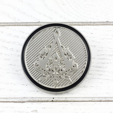 Assassin's,Creed,Ottoman,Insignia,Lapel,Pin,assassin's creed, ottoman, insignia, lapel pin, round, pin, badge, coin, power-a, gamer, geek, collectors, series 1, blind box