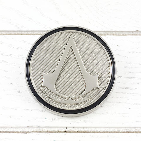 Assassin's,Creed,Classic,Insignia,Lapel,Pin,assassin's creed, classic, insignia, lapel pin, round, pin, badge, coin, power-a, gamer, geek, collectors, series 1, blind box