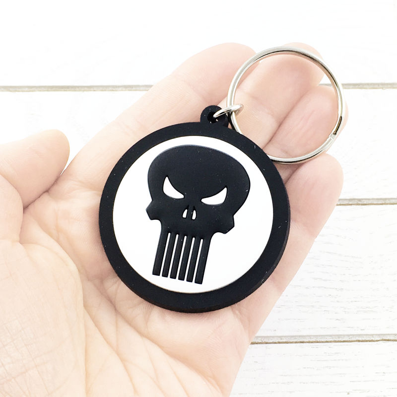 Punisher Soft Keychain - product images  of