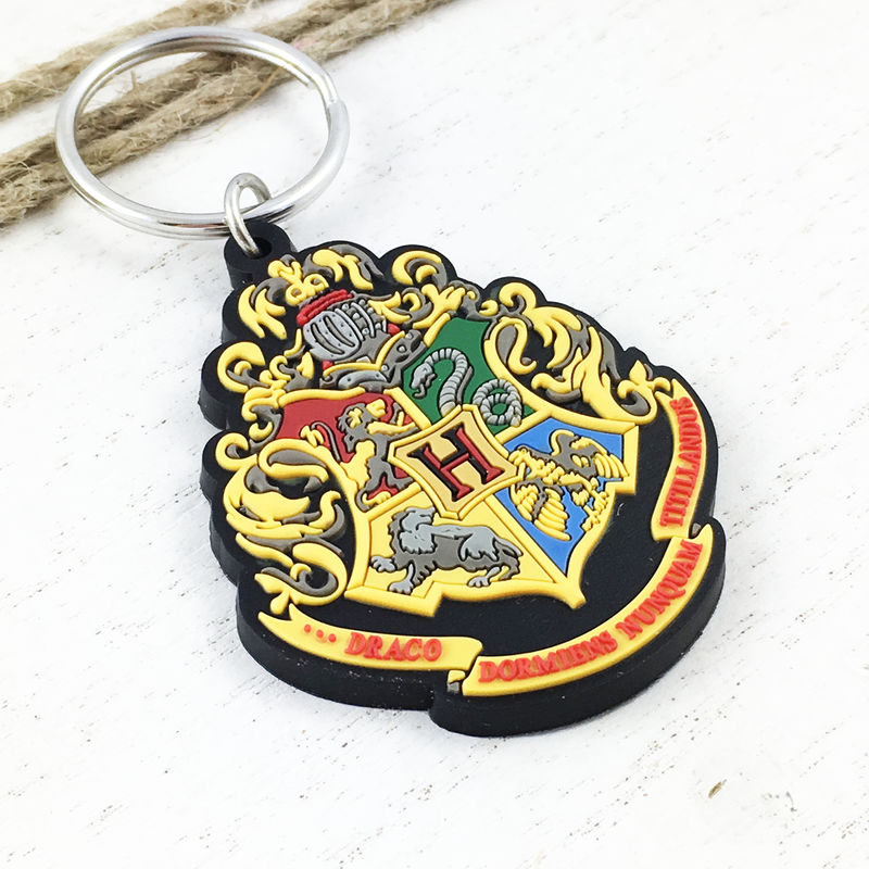 Harry Potter Hogwarts Crest Soft Keychain - product images  of