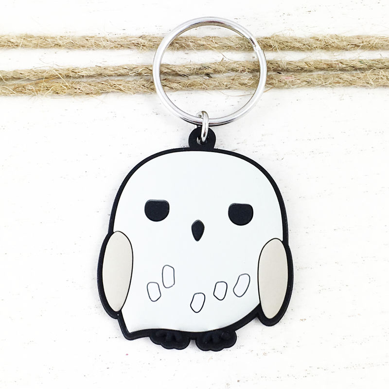 Harry Potter Hedwig Soft Keychain - product images  of