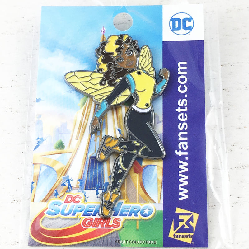 Super Hero Girls Bumblebee Enamel Pin - product images  of