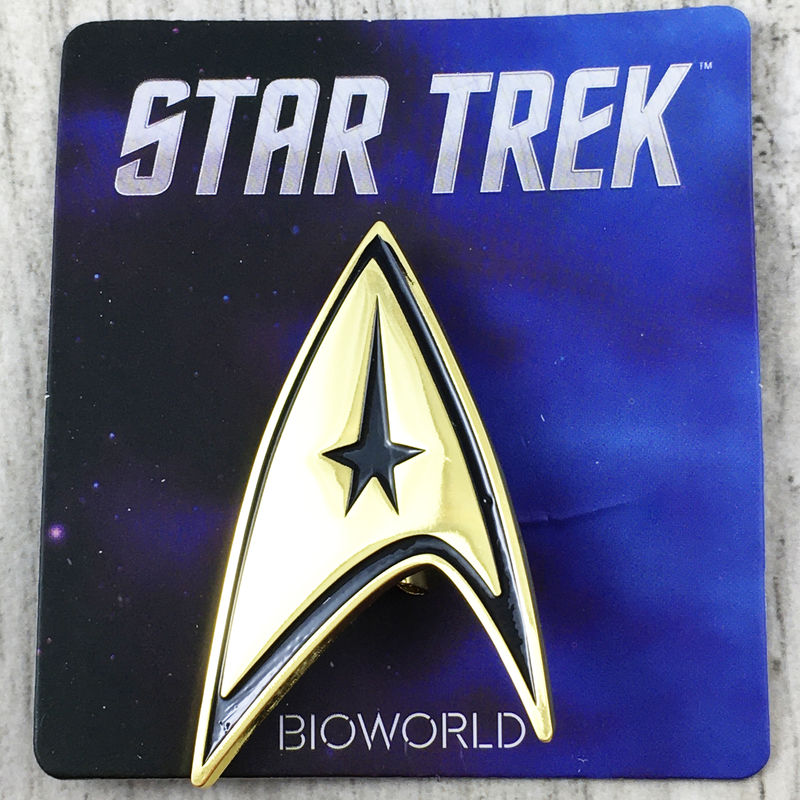 Star Trek Classic Command Badge - product images  of