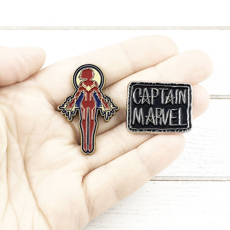 Captain Marvel Pin Set - product images  of