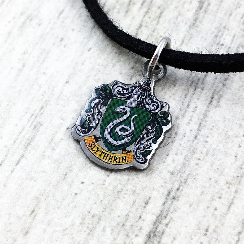 Harry Potter Slytherin Crest Choker - product images  of